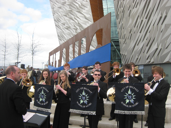 Opening of Titanic Belfast March 2012